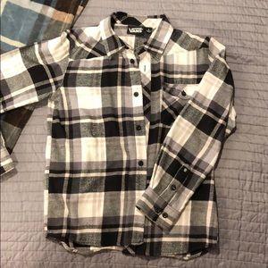 Tops - Vans Flannel Shirt.